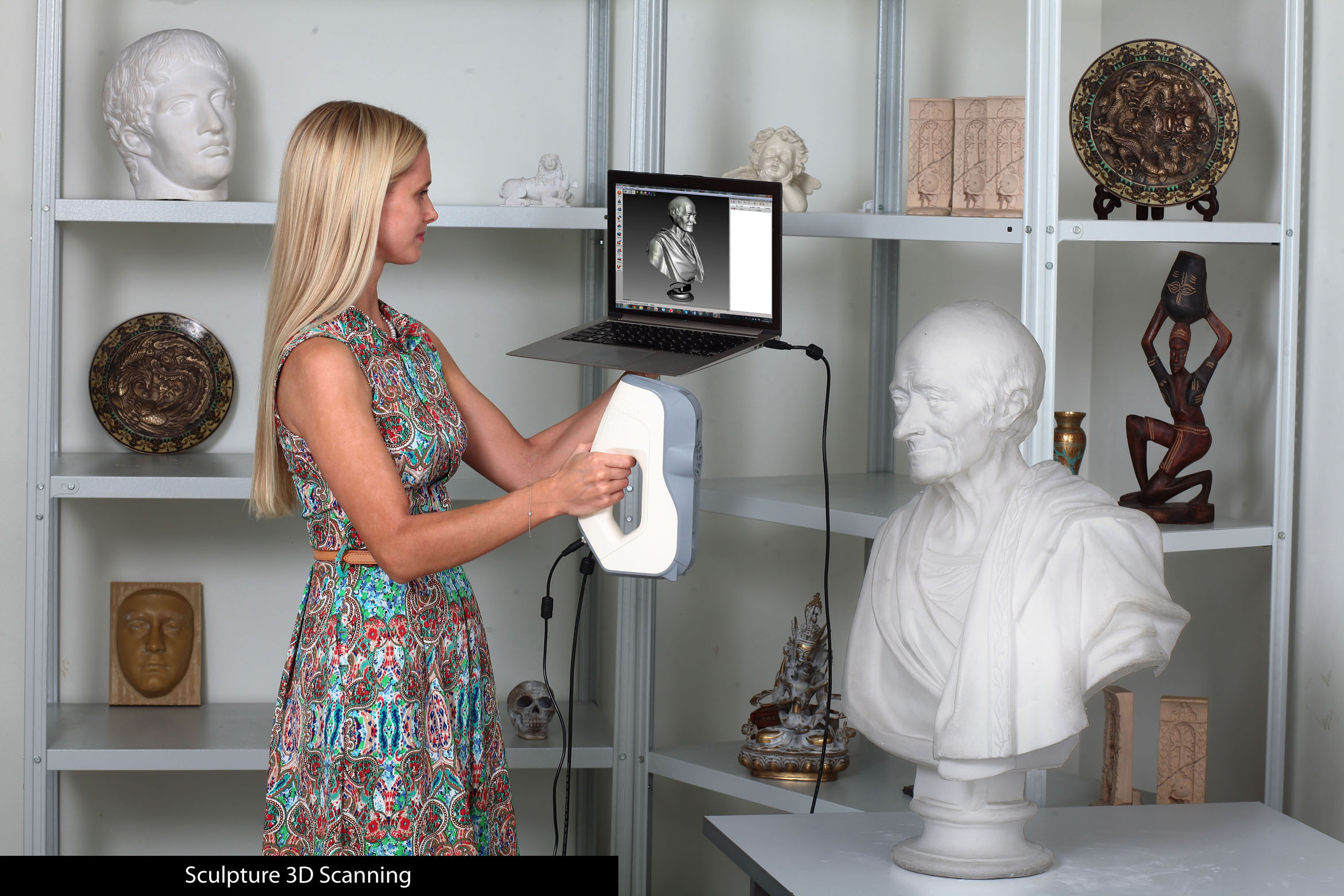 Sculpture 3D Scanning